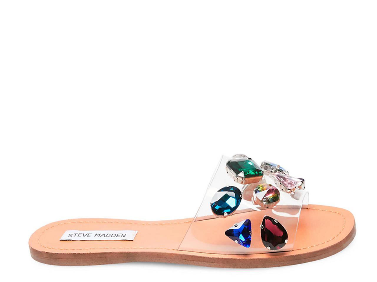 24c5302bc284 Steve Madden Rosalyn Slide Sandal Women s Shoes