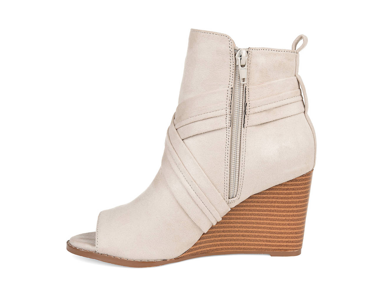 4e73e44f3ee Journee Collection Sabeena Wedge Bootie Women s Shoes