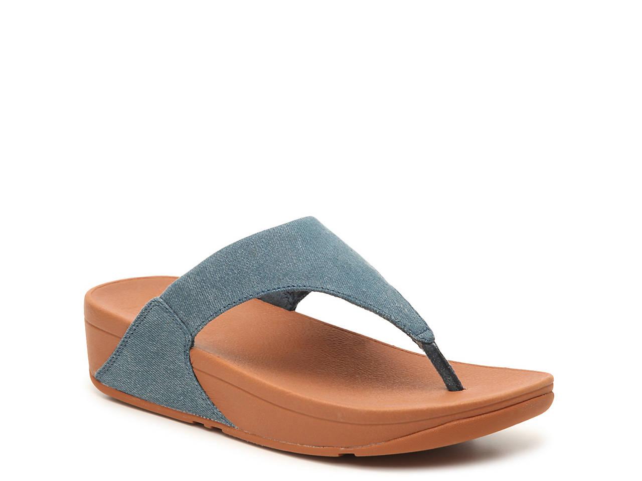760aa093cf3 FitFlop Lulu Wedge Sandal Women s Shoes