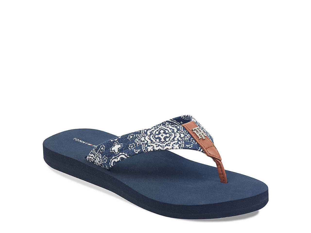 d696536ed Tommy Hilfiger Cart Flip Flop Women s Shoes