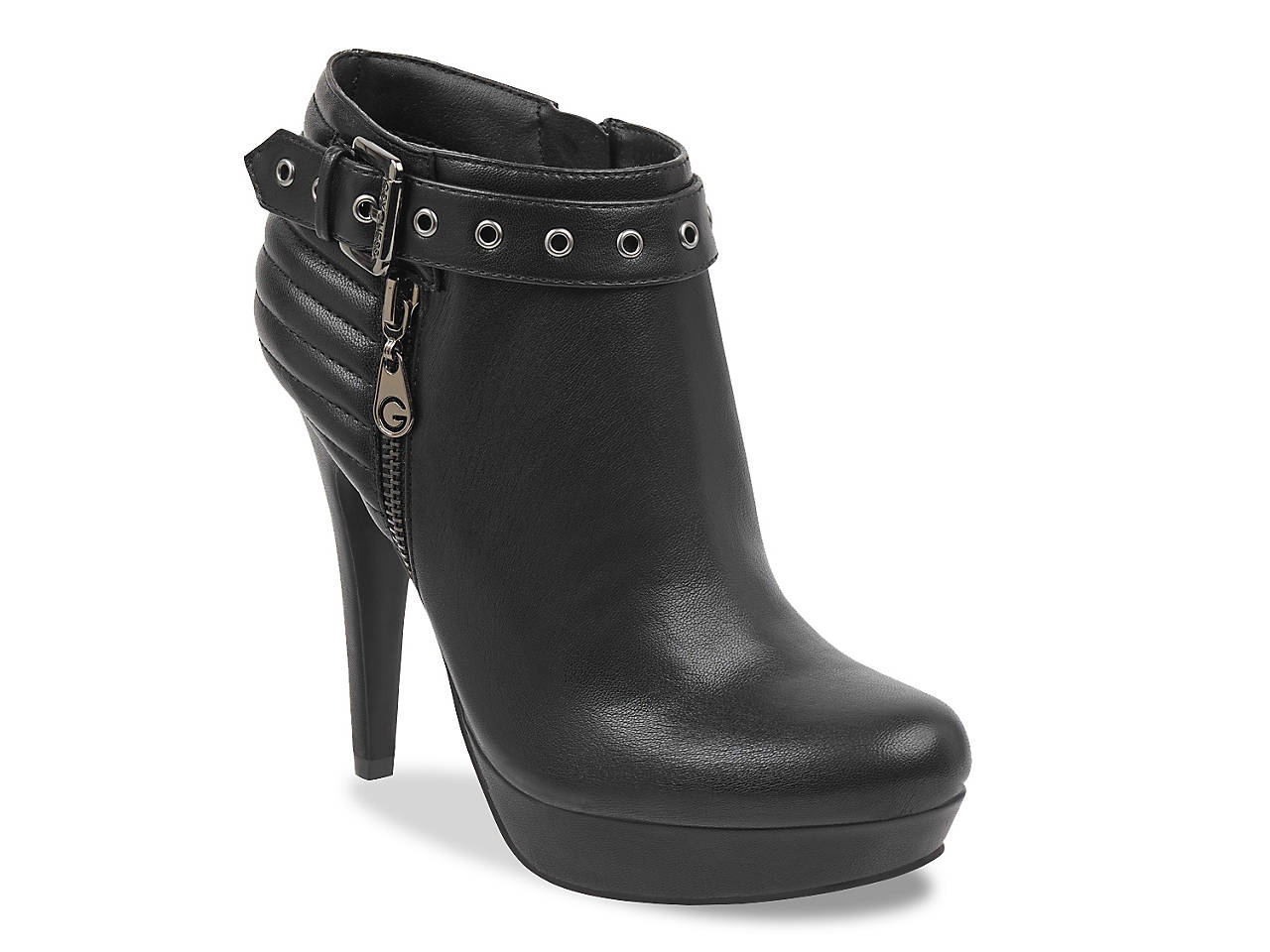 84dad2cb930 G by GUESS Dillyn Platform Bootie Women s Shoes