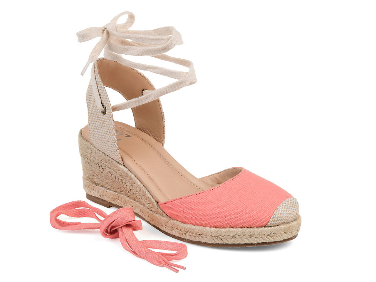 90550f9107a0 Journee Collection Monte Espadrille Wedge Sandal Women s Shoes