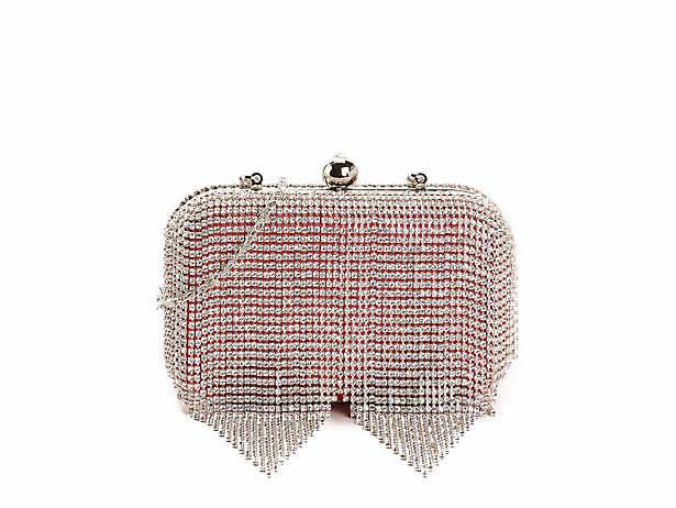 3552a0a883a Lulu Townsend Tassel Crystal Clutch Women s Handbags   Accessories