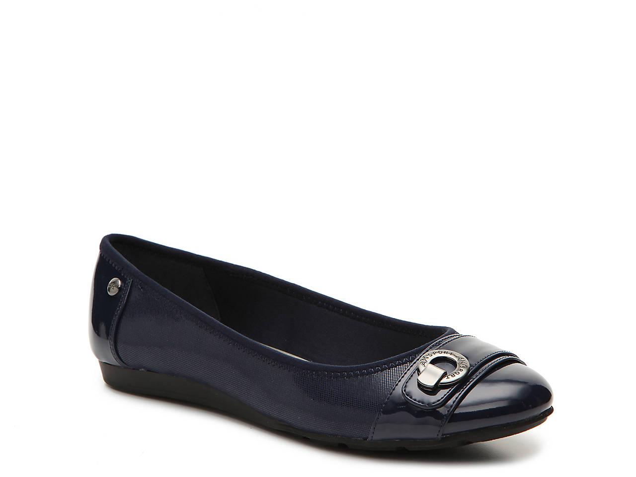 5b868f809098 Anne Klein Sport Azi Ballet Flat Women s Shoes