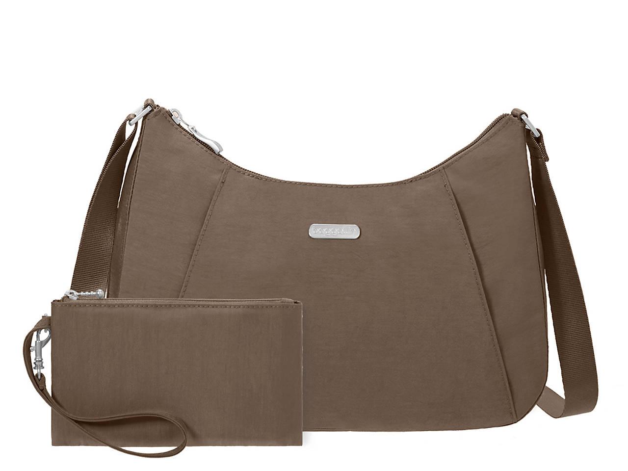 5abb1a72b5 Baggallini Slim Hobo Shoulder Bag Women s Handbags   Accessories