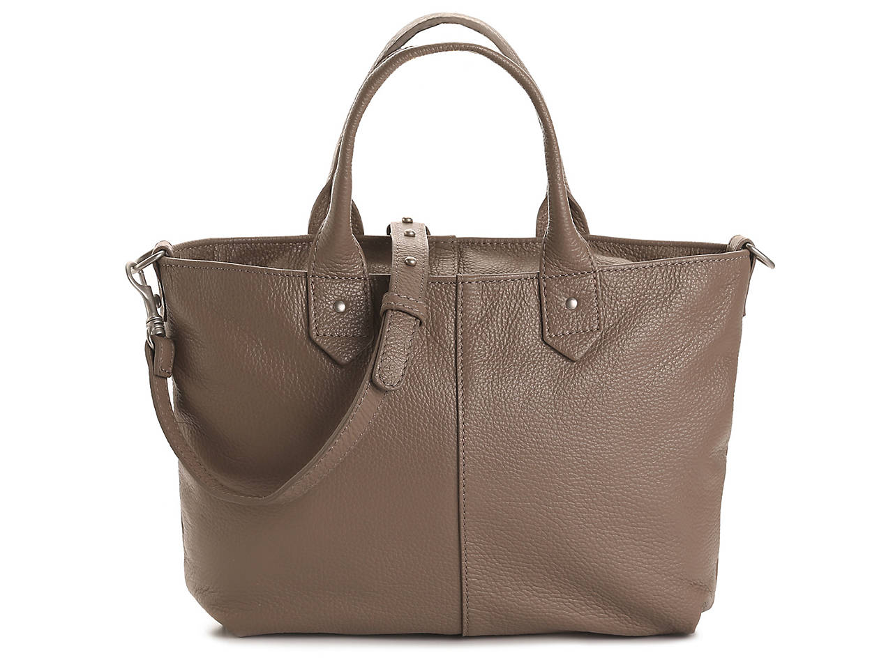 Slouchy Leather Mini Tote