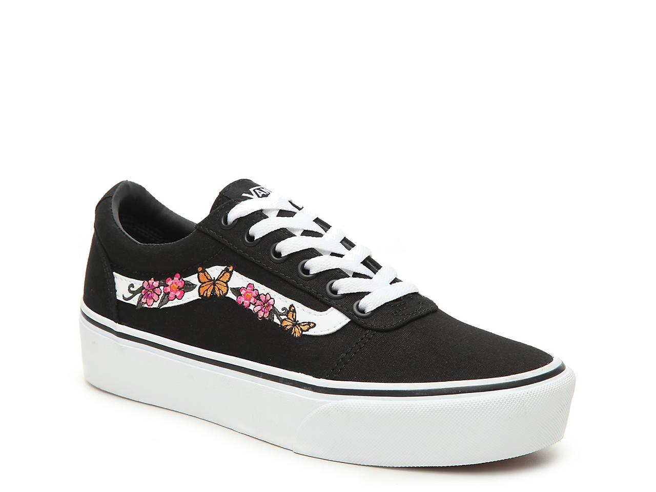 0b38153d5d Vans Ward Platform Sneaker - Women s Women s Shoes