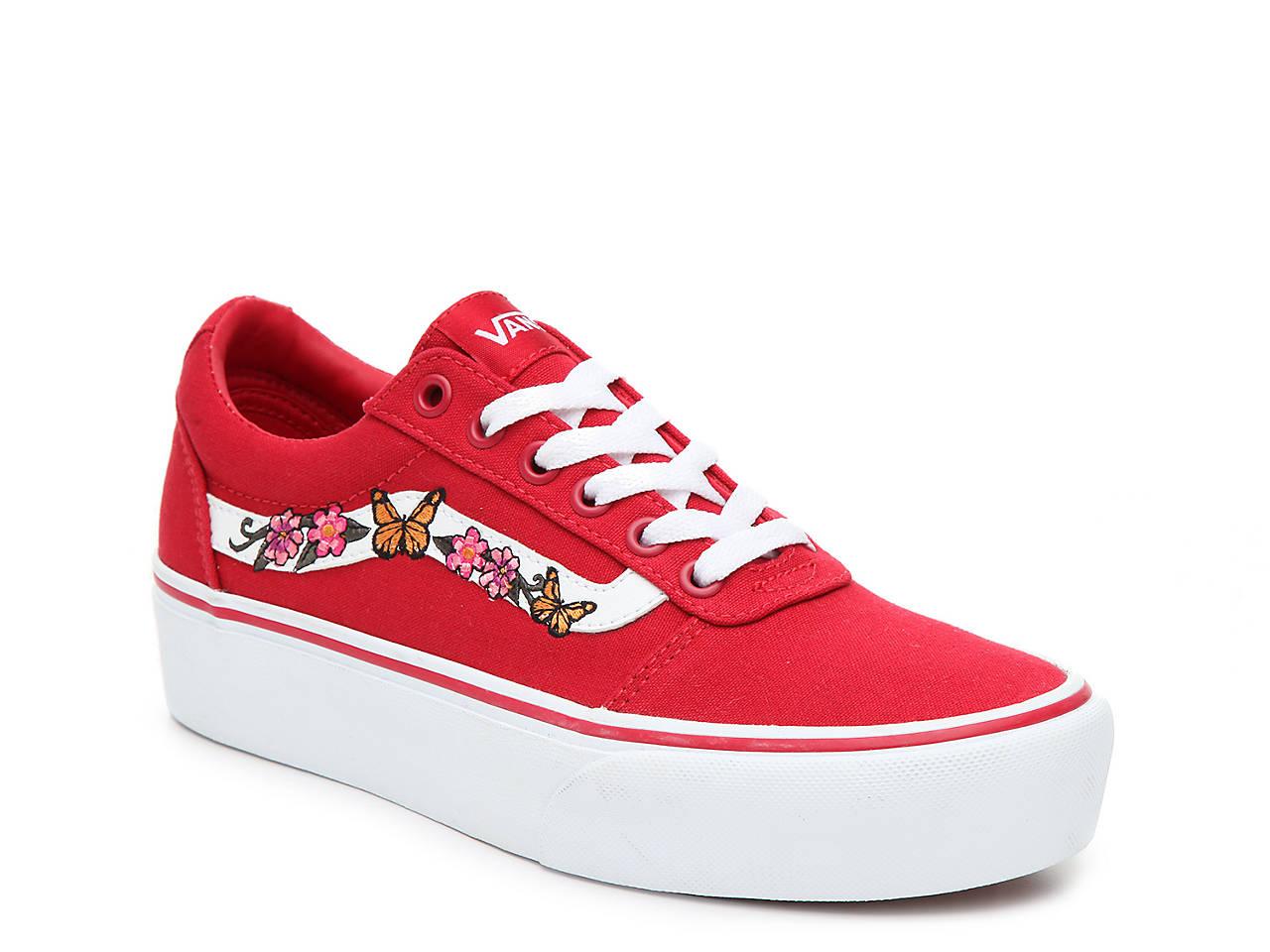 6e78a9583b Vans Ward Platform Sneaker - Women s Women s Shoes