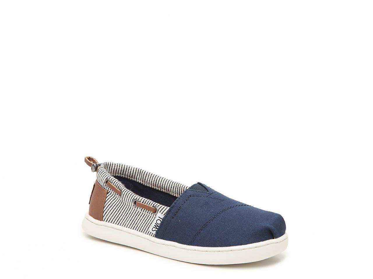 d1859330208 TOMS Bimini Toddler   Youth Slip-On Sneaker Kids Shoes