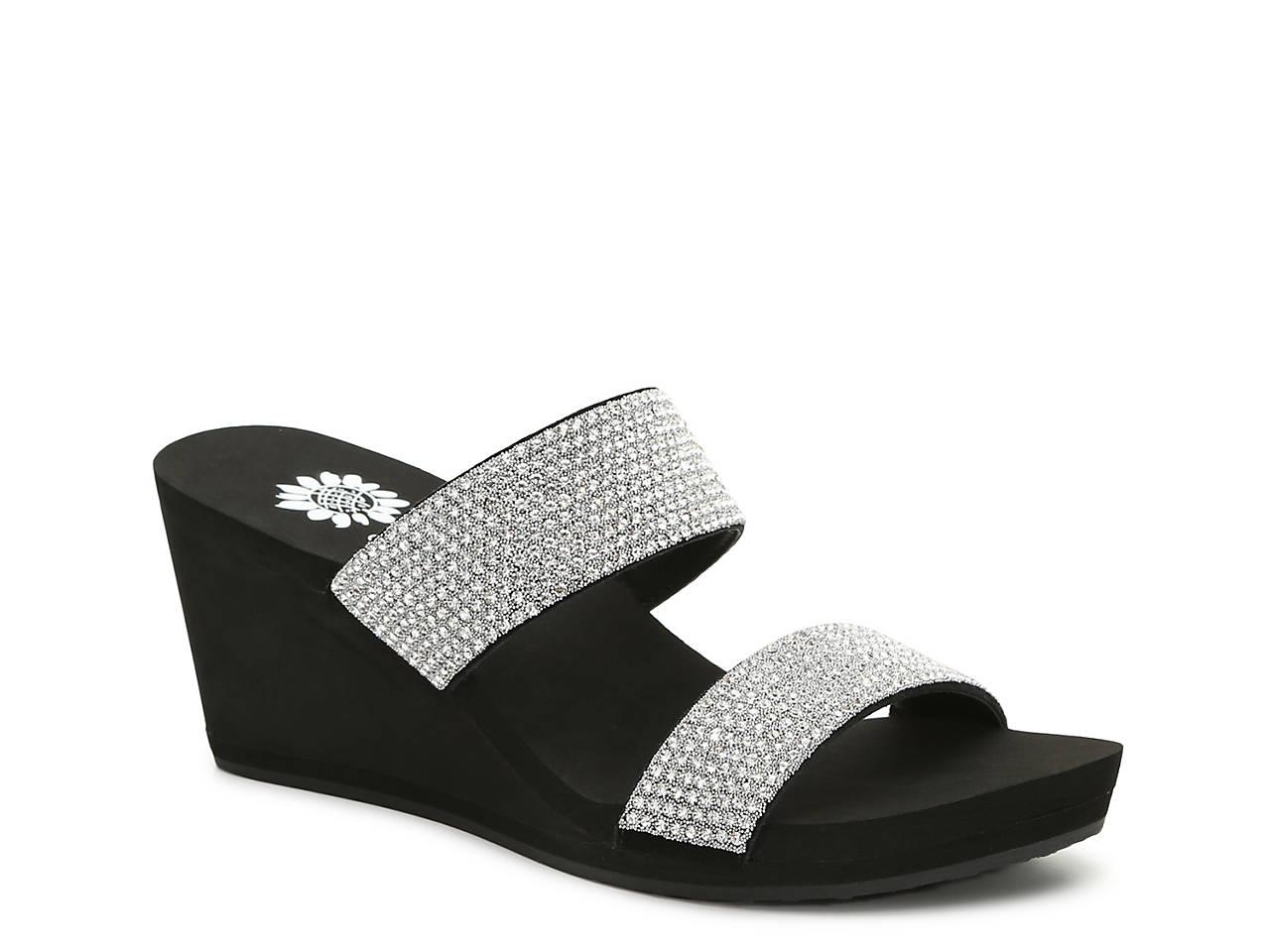 edd045eb5297 Yellow Box Frisky Wedge Sandal Women s Shoes