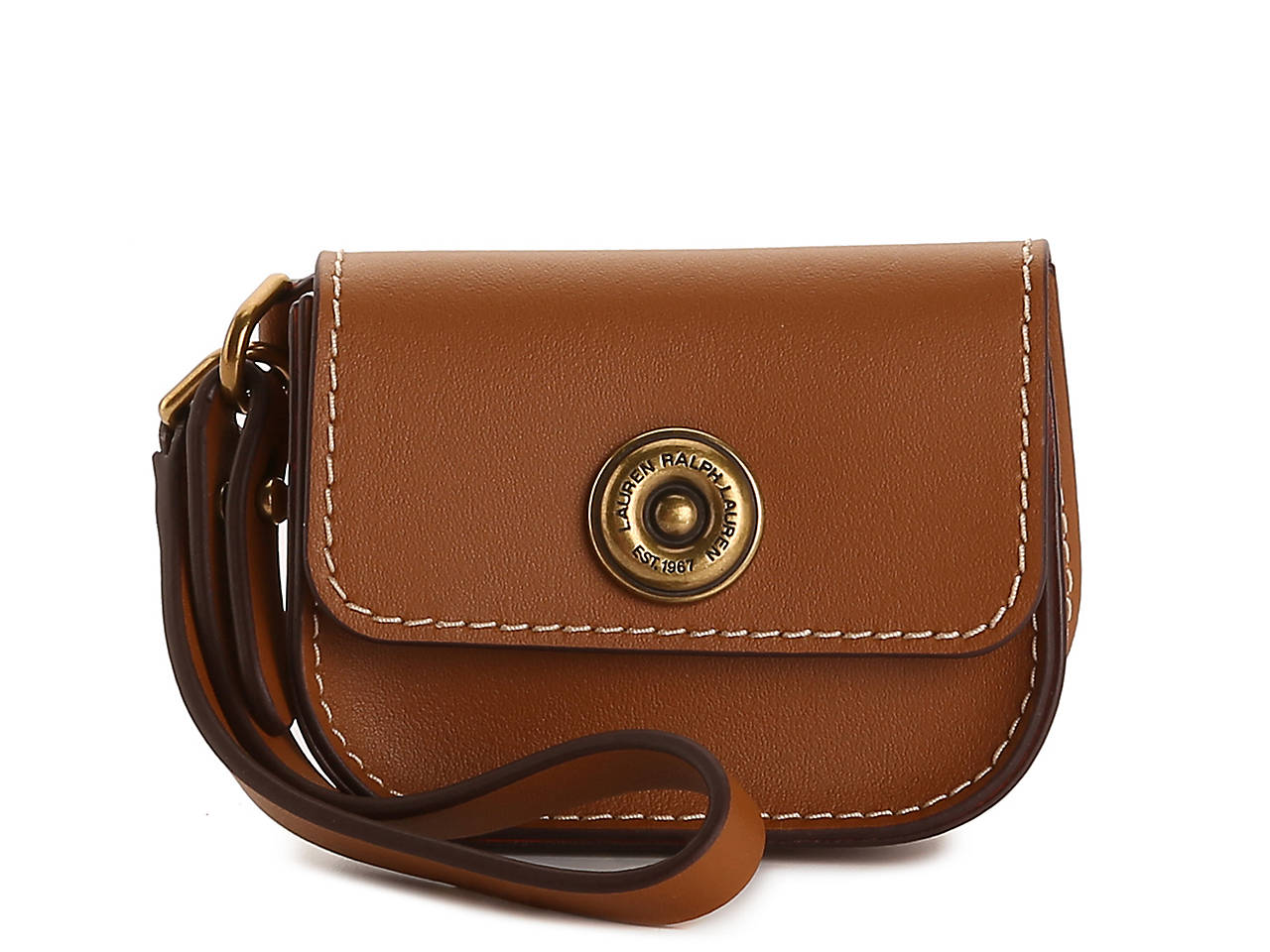 Lauren Ralph Lauren Millbrook Leather Coin Purse Women s Handbags ... cb5826637f9