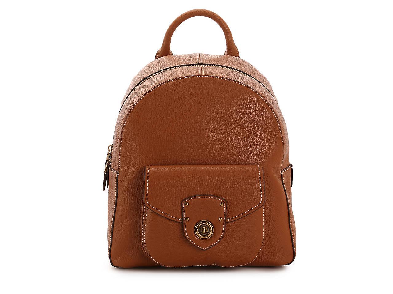 c112176281 Lauren Ralph Lauren Millbrook Leather Backpack Women s Handbags ...