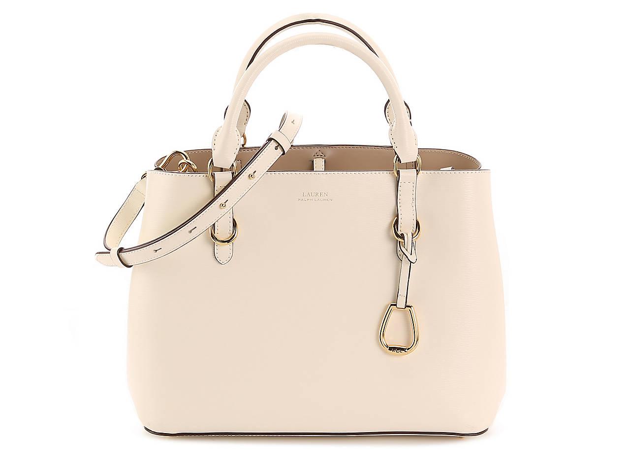 bf39832bf6 Lauren Ralph Lauren Bennington Leather Satchel Women s Handbags ...