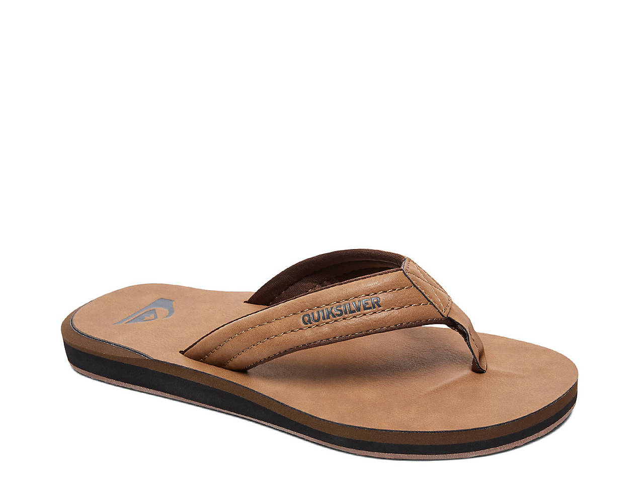 c517adf2ffab Quiksilver Carver Flip Flop Men s Shoes