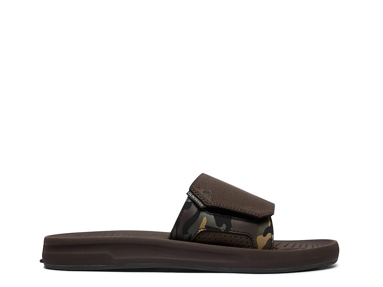 af895fa49073 Quiksilver Travel Oasis Slide Sandal - Men s Men s Shoes