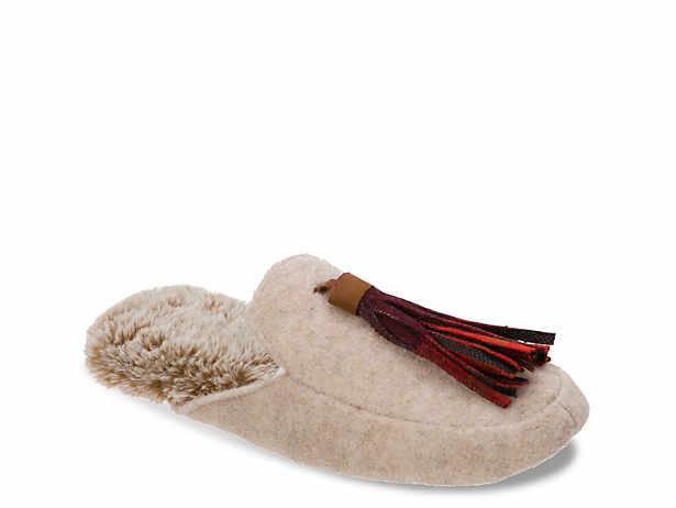 f8118e1d323a20 Women s Brown Memory Foam Slippers