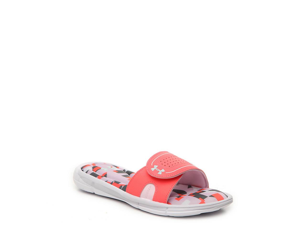 cb5eb169ea1ac Under Armour Ignite Jagger VIII Youth Slide Sandal Kids Shoes