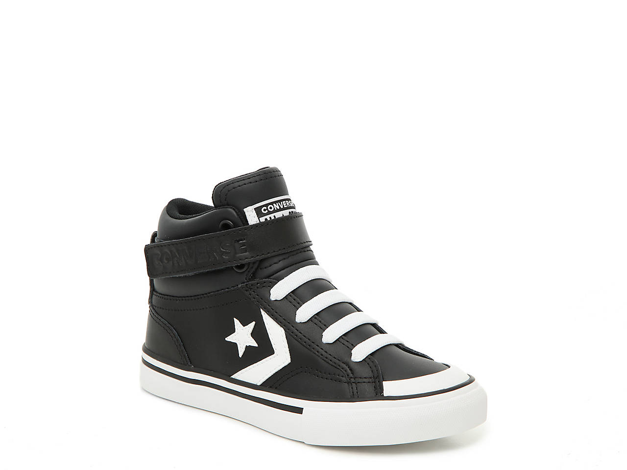 7a6fa7a15b140 Converse Pro Blaze Strap Toddler   Youth High-Top Sneaker Kids Shoes ...