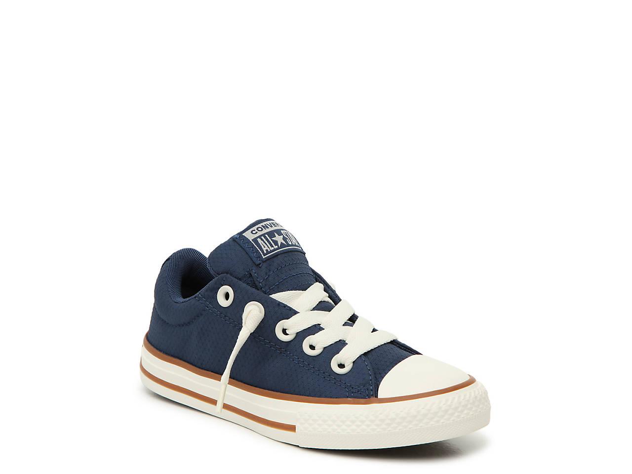 42c0b969a1a Converse Chuck Taylor All Star Street Pinstripe Toddler & Youth Slip ...