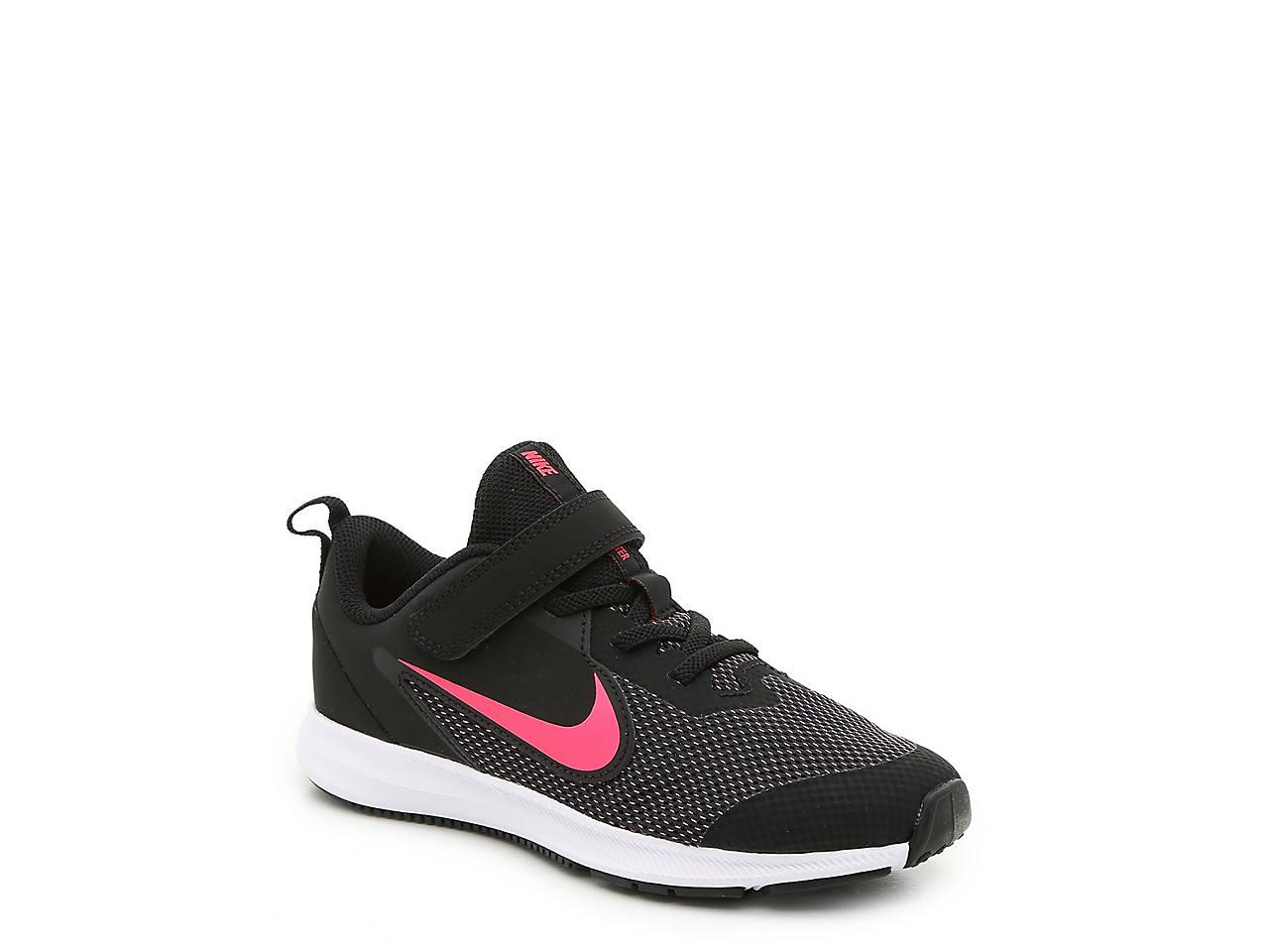 d84b4b69fe85 Nike Downshifter 9 Toddler   Youth Running Shoe Kids Shoes