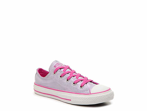 ab9fc56926df Girls Purple Converse Fashion