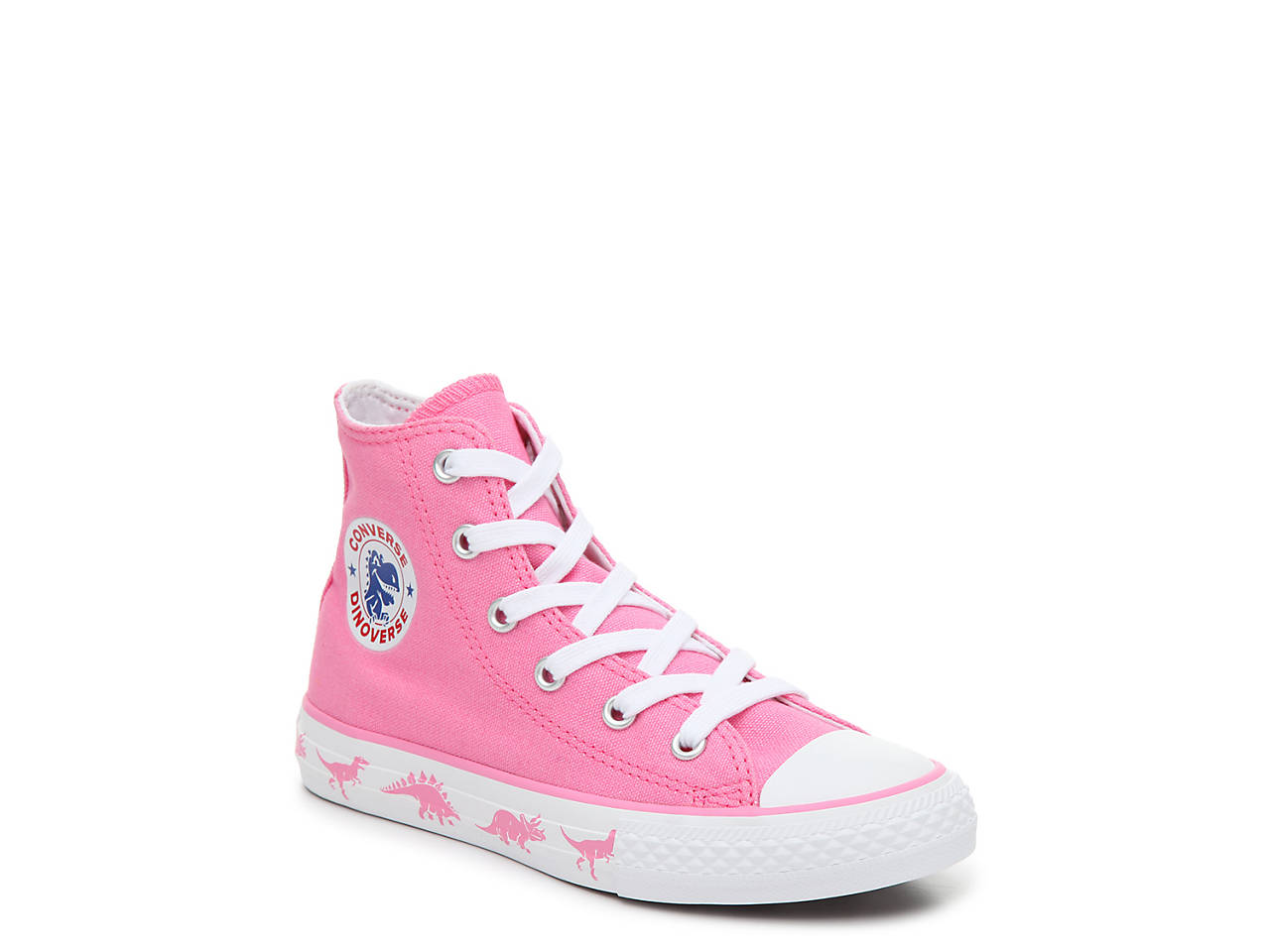 6bd46c6db987 Converse Chuck Taylor All Star Dinosaur Toddler   Youth High-Top ...