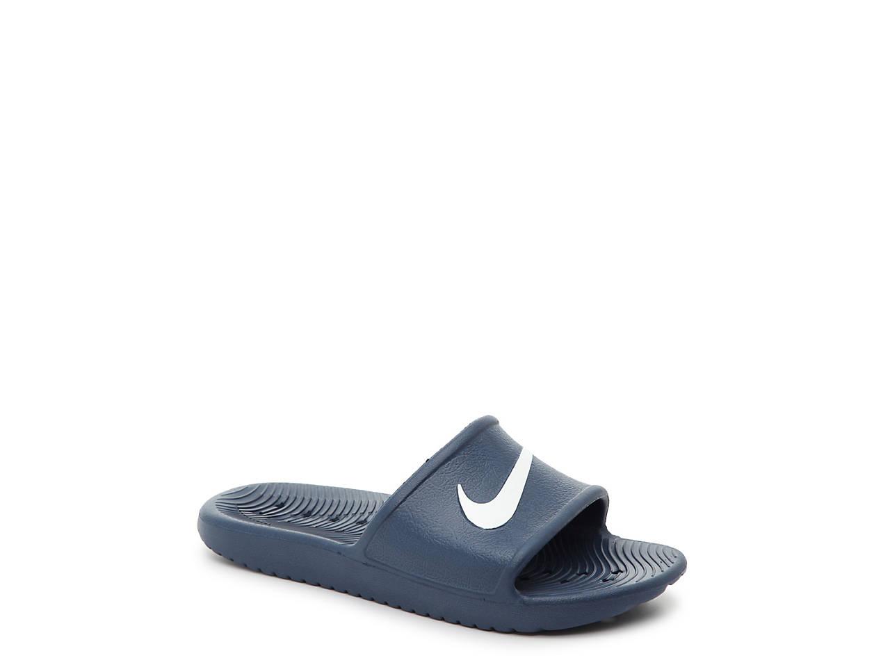 Nike Kawa Shower Toddler   Youth Slide Sandal Kids Shoes