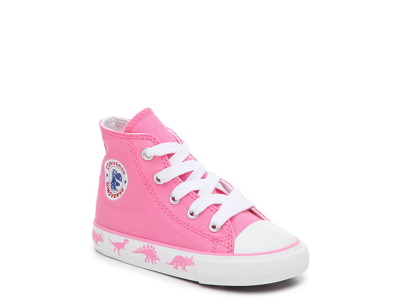 54e5fa50696e Converse. Chuck Taylor All Star Dinosaur Infant   Toddler High-Top Sneaker