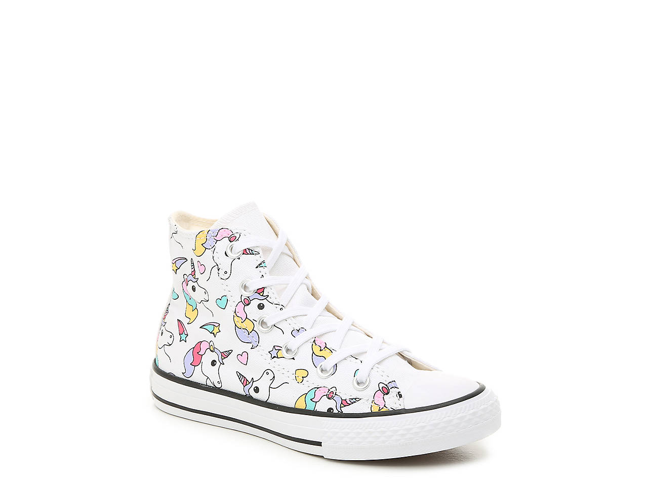 aa0b6f696edc Converse Chuck Taylor All Star Unicorn Toddler   Youth High-Top ...