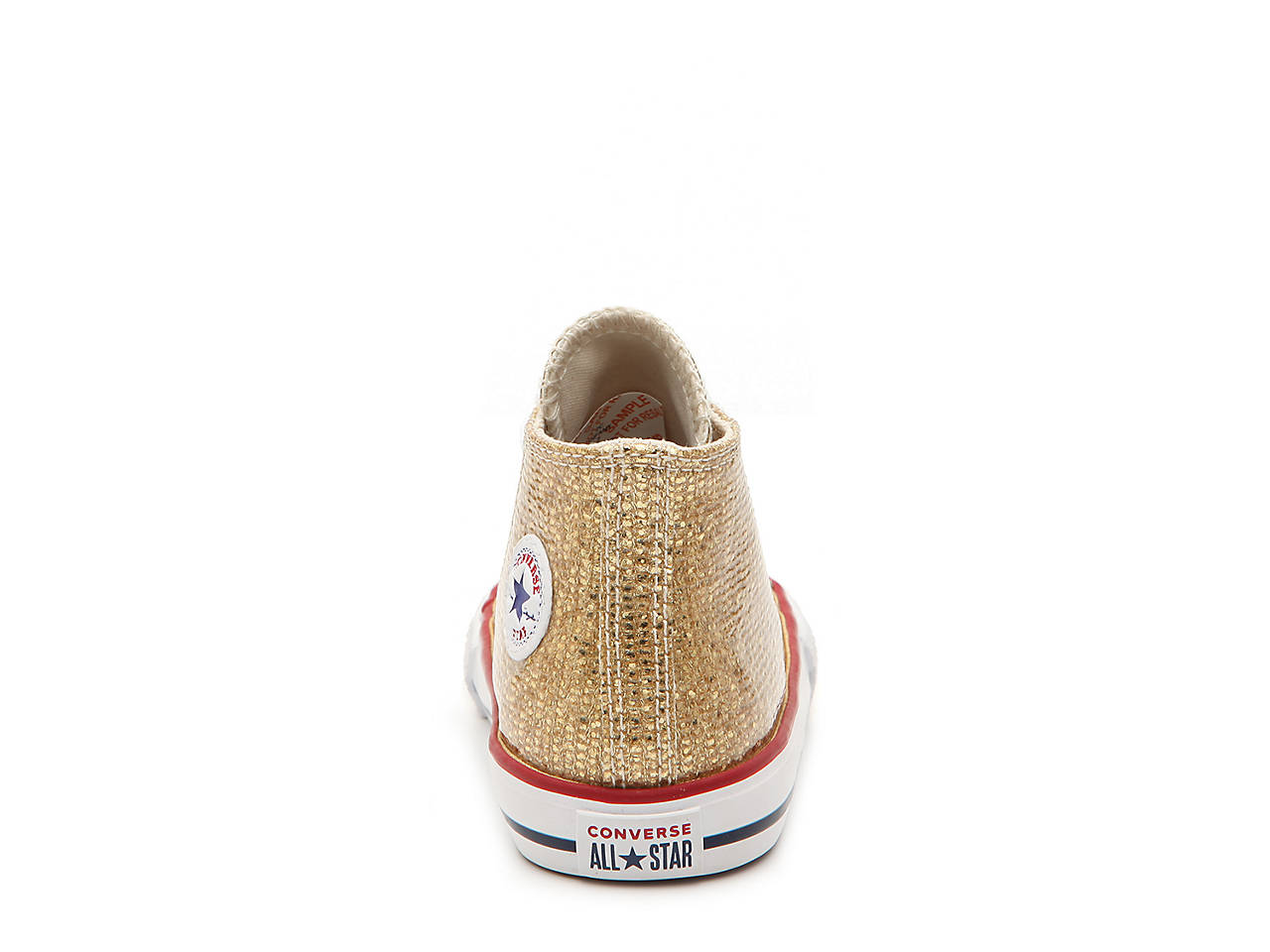 8739f291d67e2b Converse Chuck Taylor All Star Sparkle Infant   Toddler High-Top ...