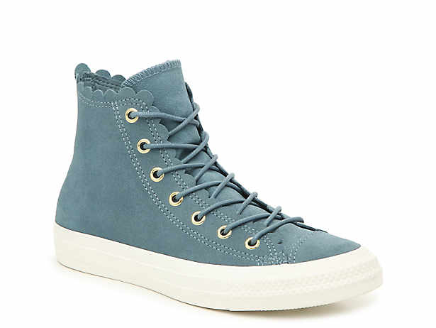 becd08dfea8 Converse. Chuck Taylor All Star Scallop High-Top Sneaker ...