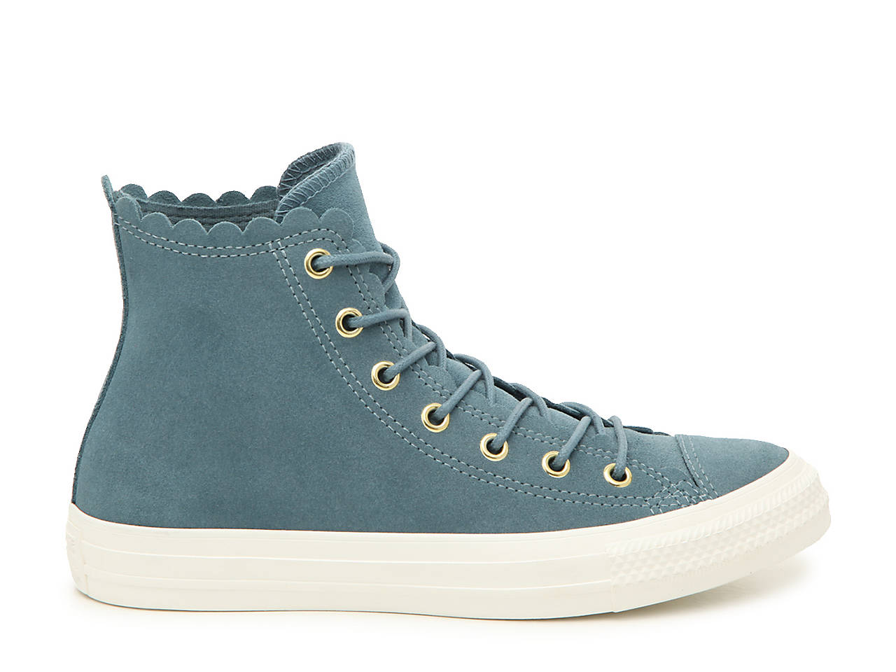 Converse Chuck Taylor All Star Scallop High-Top Sneaker - Women s ... aedfd50aa
