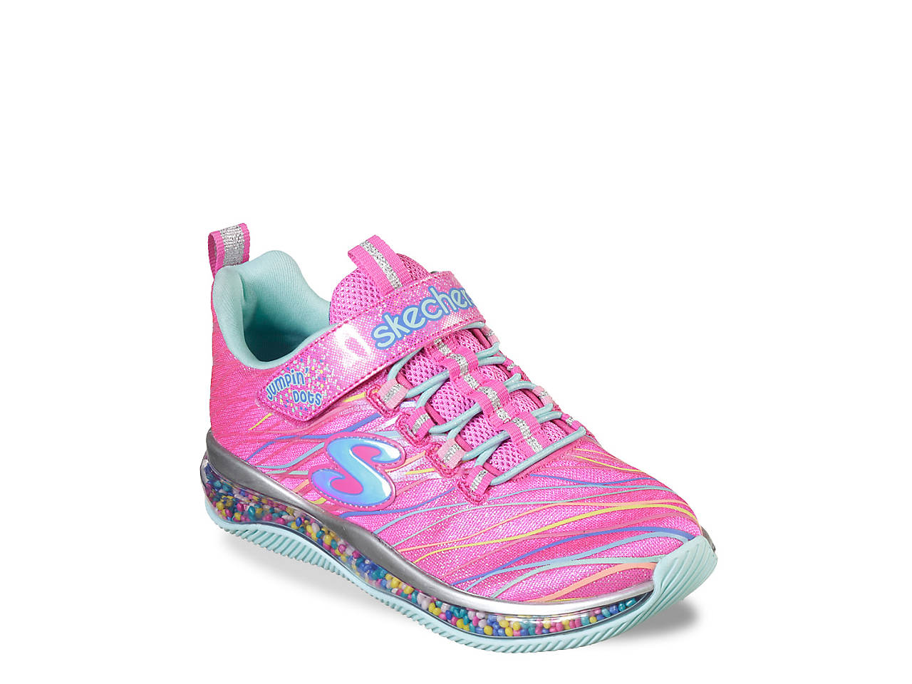c0e52413d433 Skechers Skech-Air Jumpin  Dots Toddler   Youth Sneaker Kids Shoes