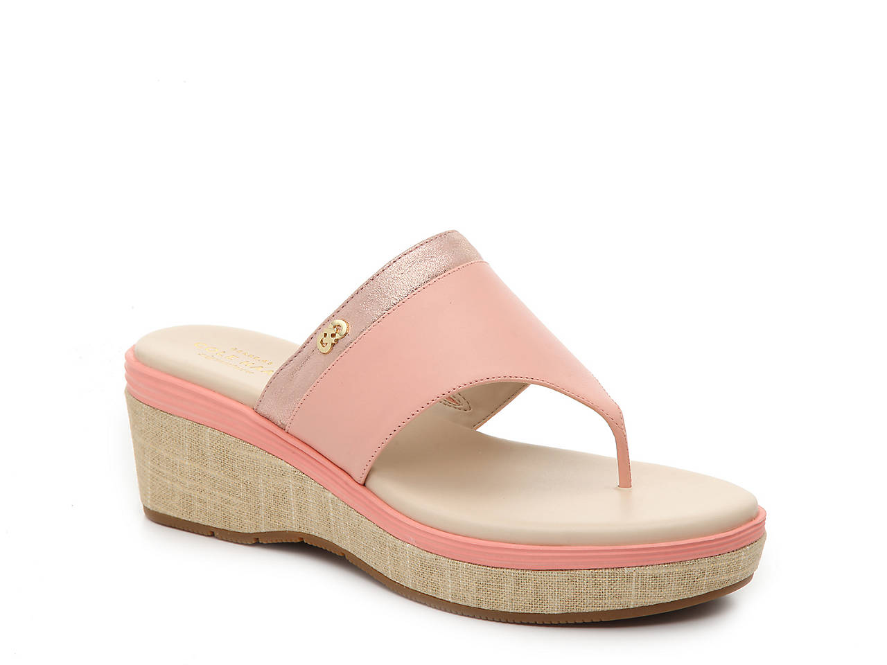 5f31149e749 Cole Haan Cecily Grand Wedge Sandal Women s Shoes