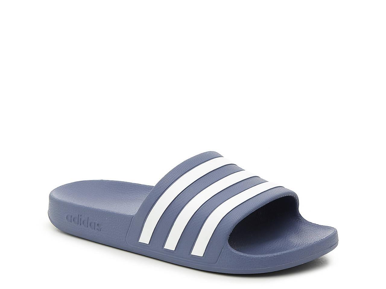 9e26f754e9f adidas Adilette Aqua Slide Sandal - Women's Women's Shoes | DSW