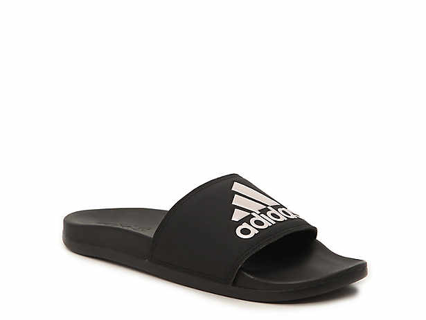 7d26b14991fb adidas Adilette Cloudfoam Ultra Stripes Slide Sandal - Women s ...