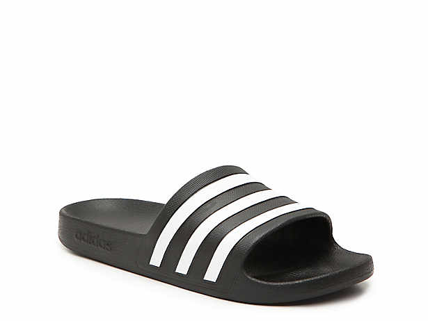 deb7c363d186 adidas Adilette Cloudfoam Ultra Stripes Slide Sandal - Women s ...