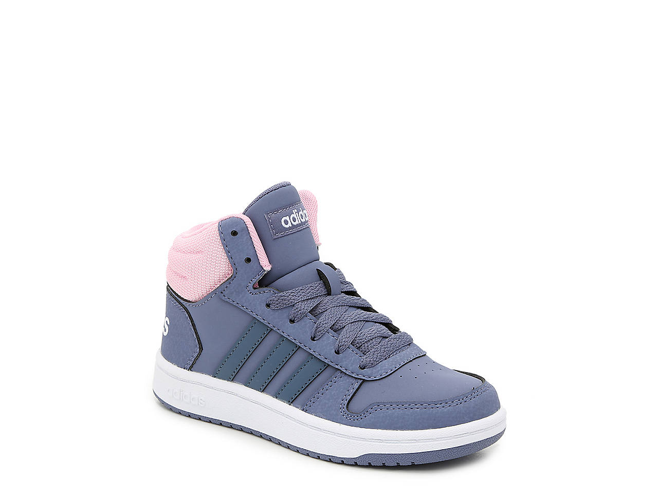 8332c3fd7 adidas Hoops Mid 2.0 Toddler & Youth High-Top Sneaker Kids Shoes | DSW