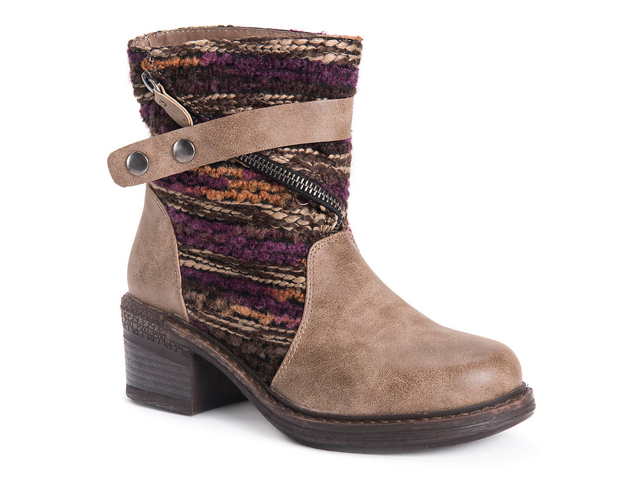 ea8e69e1efdd Muk Luks Marni Bootie Women s Shoes