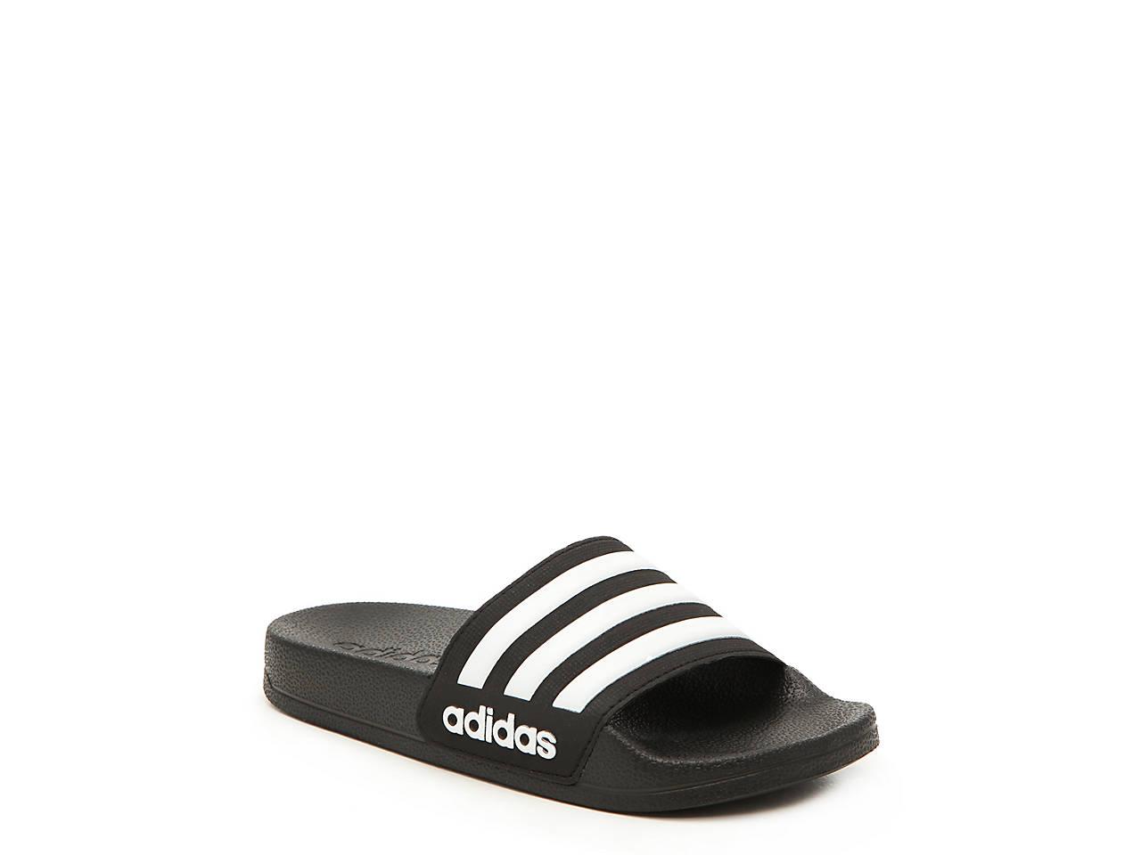 6b7d36379837 adidas Adilette Shower Toddler   Youth Slide Sandal Kids Shoes