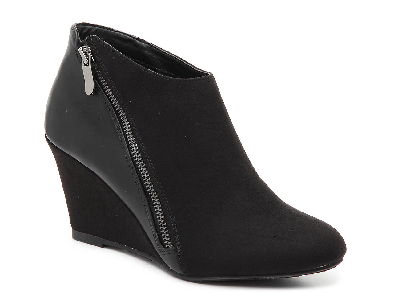 6f35db0642d CL by Laundry Viola Wedge Bootie Women s Shoes