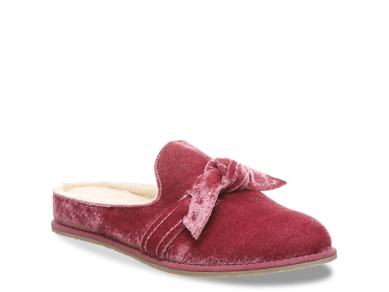 a2beadf852271f Bearpaw Liberty Tie Scuff Slipper Women s Shoes