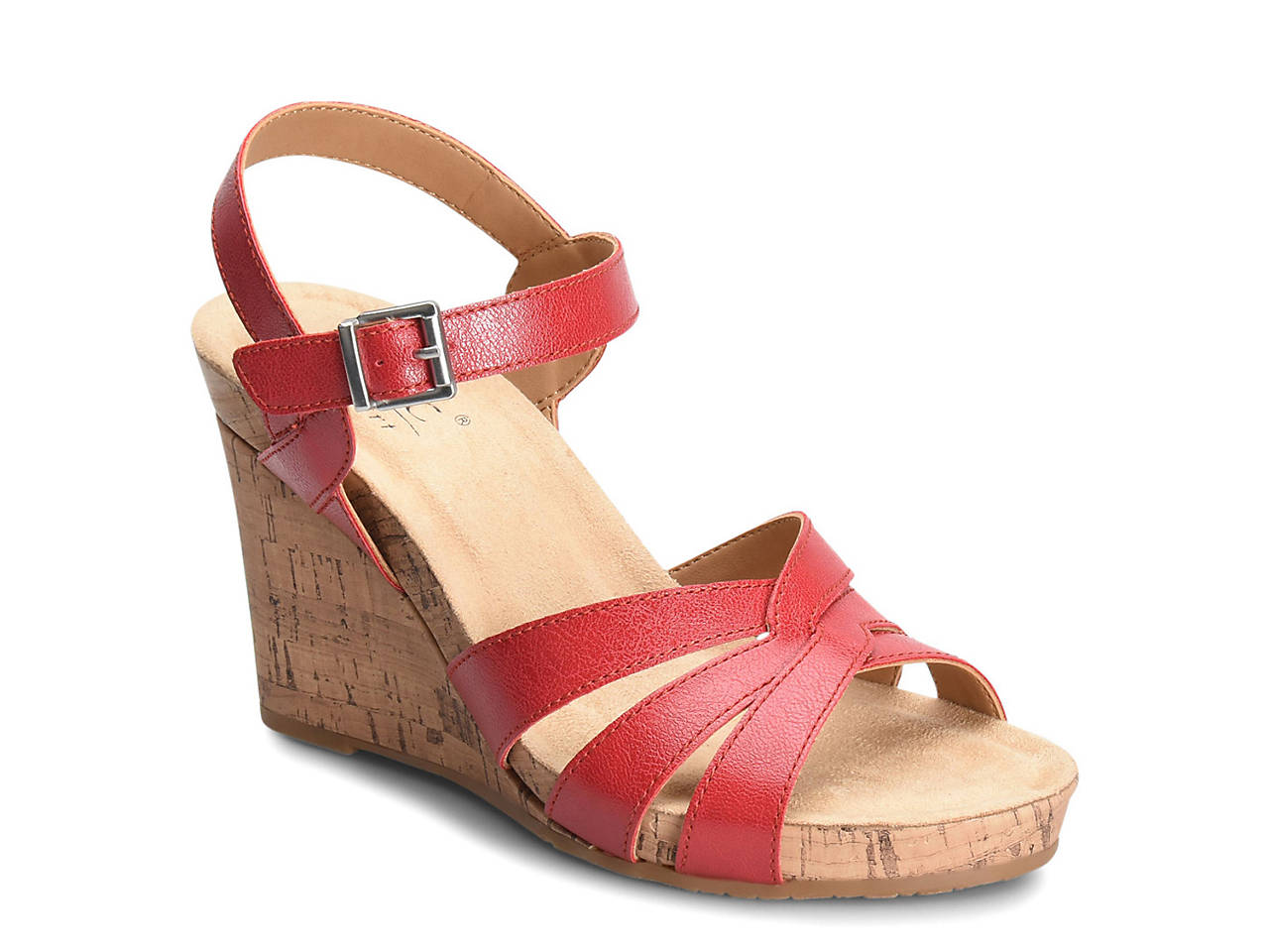 4c87eca3b312 B O C Apple Wedge Sandal Women S Shoes Dsw