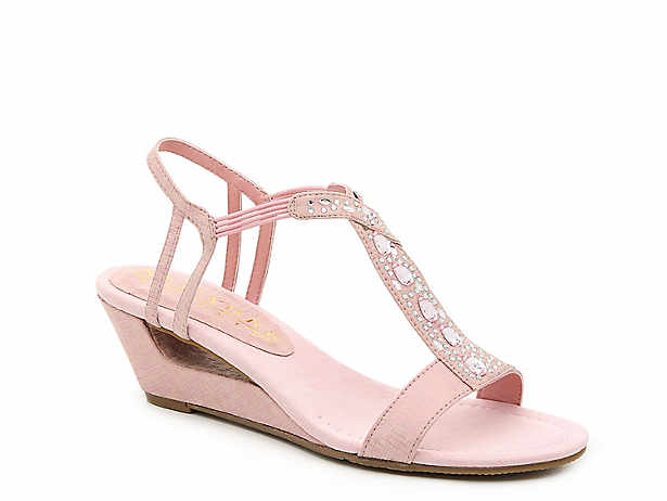 a8539292e New York Transit. Veer This Way Wedge Sandal