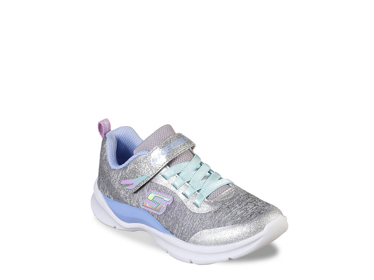e426adc6ea127 Skechers Tech Groove Sparkle Glitz Toddler   Youth Sneaker Kids ...