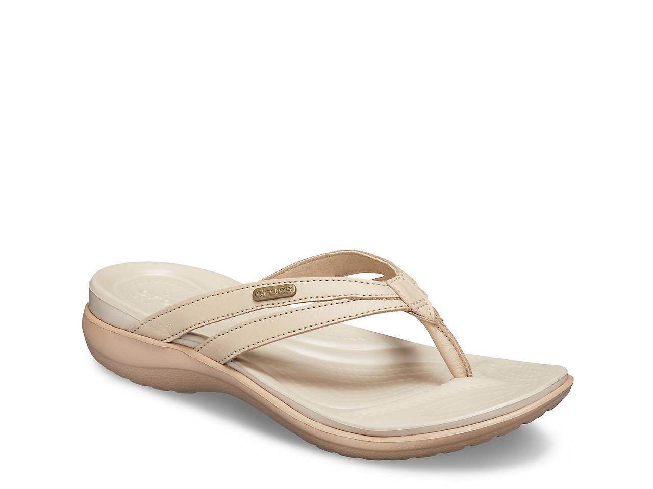 7d0029439c3f Crocs Capri Basic Wedge Sandal Women s Shoes