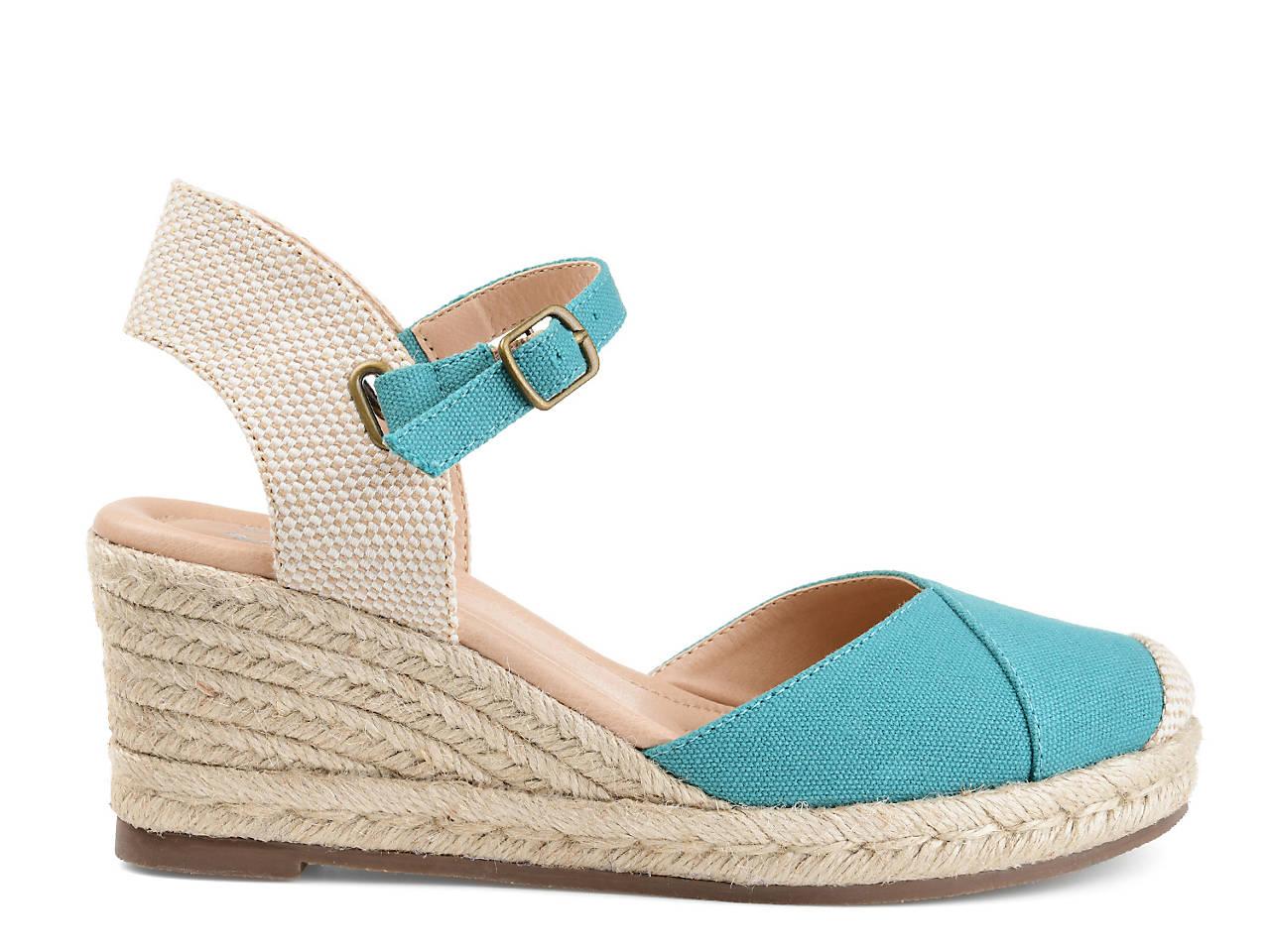Journee Collection Ashlyn Espadrille Wedge Sandal Women's