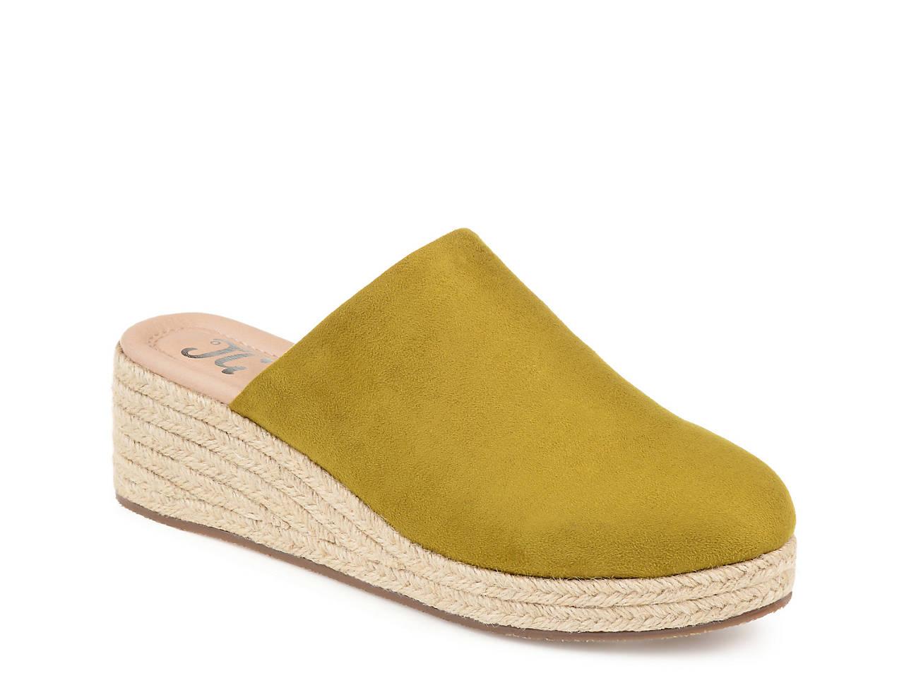 a0f5ec62ac22 Journee Collection Lolita Espadrille Wedge Mule Women s Shoes