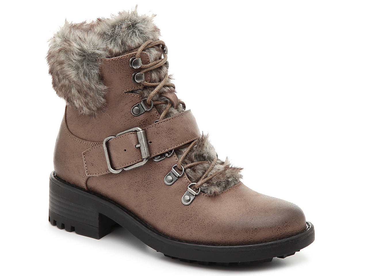 Bullboxer Fur Booties