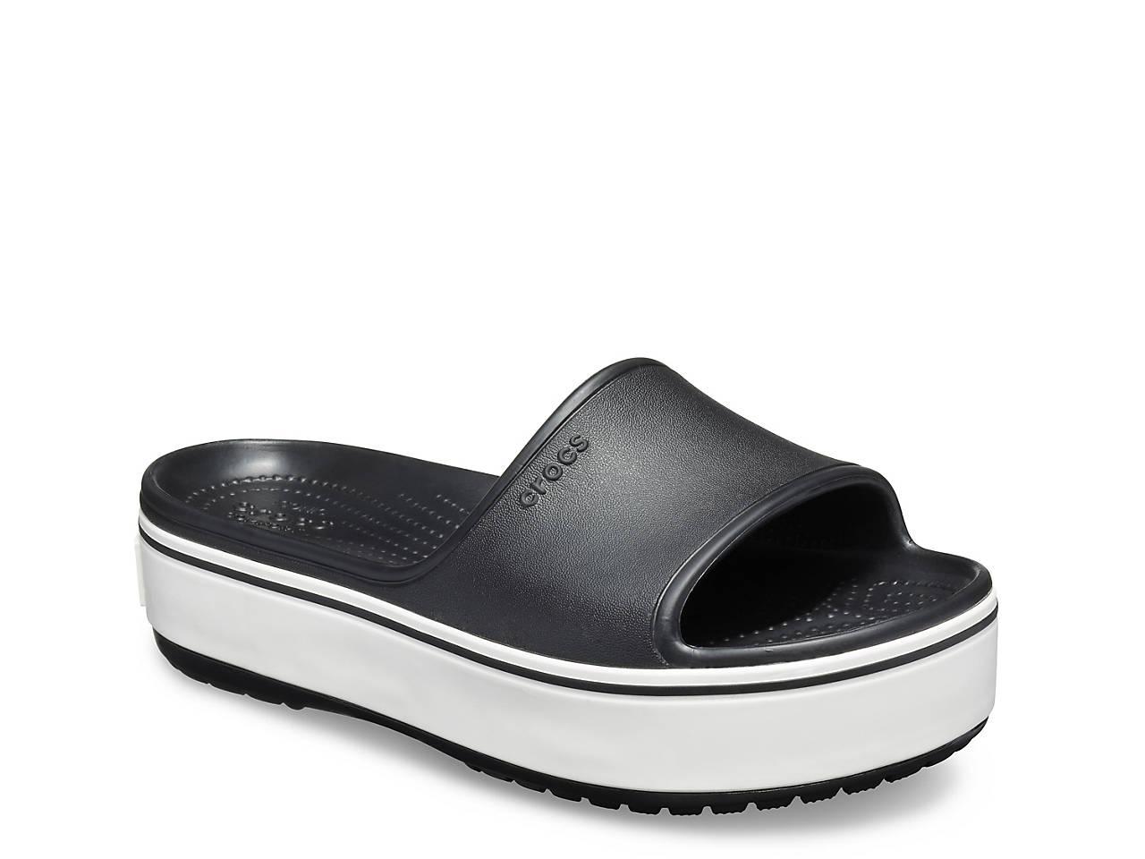 Platform Sandal Slide Crocband Crocband Slide Platform mN08wnv